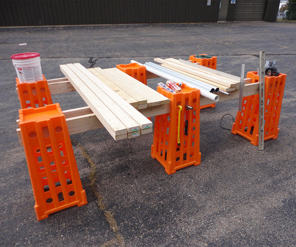 Standtall Sawhorse System Add-On