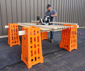 Standtall Sawhorse System