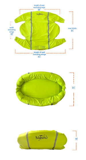 NEW Inflatable Travel Pad