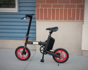 Smartie - folding electric bike