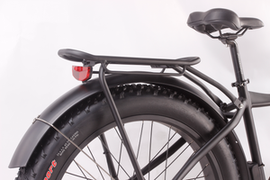 fat tire electric bike rear rack