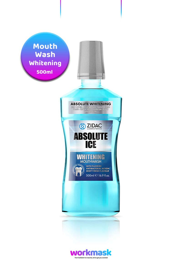 Absolute Ice Mouthwash 500ml - Whitening