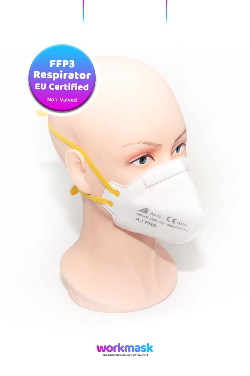 FFP3 EU Certified Medical Respirator Face Mask - AJ02