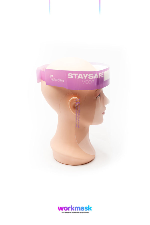 Staysafe Full Face Visor | PPE Face Shield