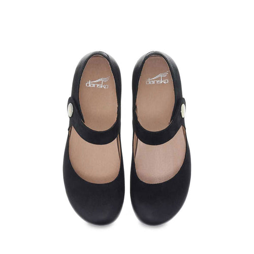 Women's Beatrice Shoe - Black Burnished Nubuck