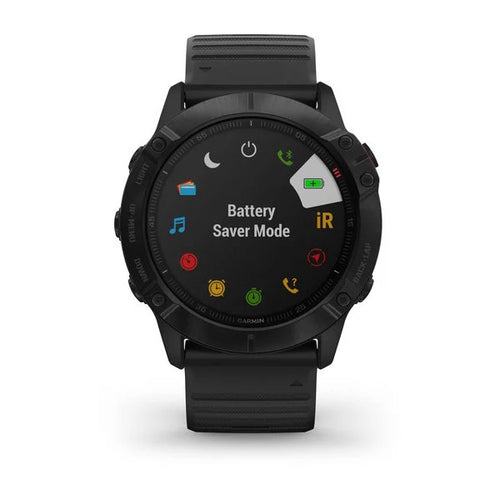 Fenix 6X Pro Smartwatch - Black with Black Band