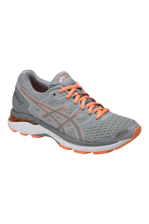 Women's GT-3000™ 5 (D-Wide) Running Shoe - Mid Grey/Stone Grey/Cantaloupe