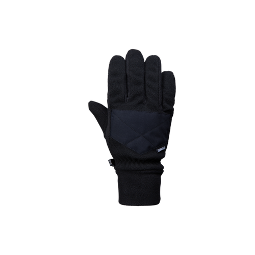 Women's Barrier Fleece Glove - Black