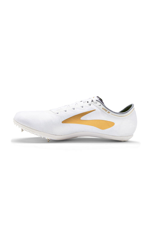 Unisex WIRE v5 Spike - White/Gold