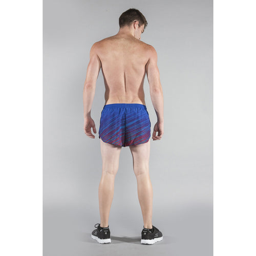 "Men's Stretched 1"" Elite Printed Split Run Short - CROSSROADS 616C"