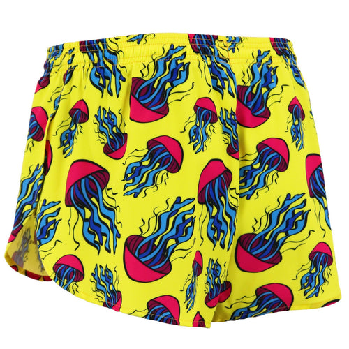 "Men's Stretch 1"" Split Short - Jellyfish"