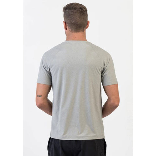 Men's Reign Short Sleeve Shirt - Light Gray Heather