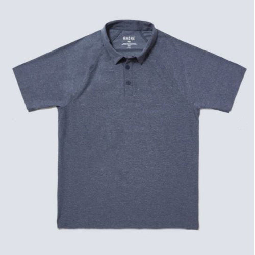 Men's Reign Polo - Midnight Heather