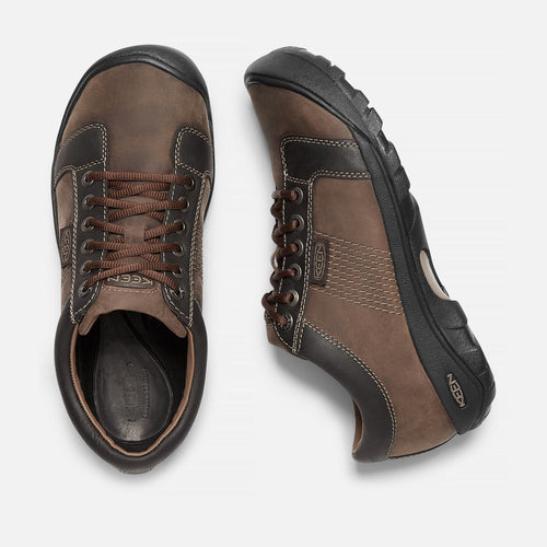 Men's Austin Casual Shoes - Chocolate Brown