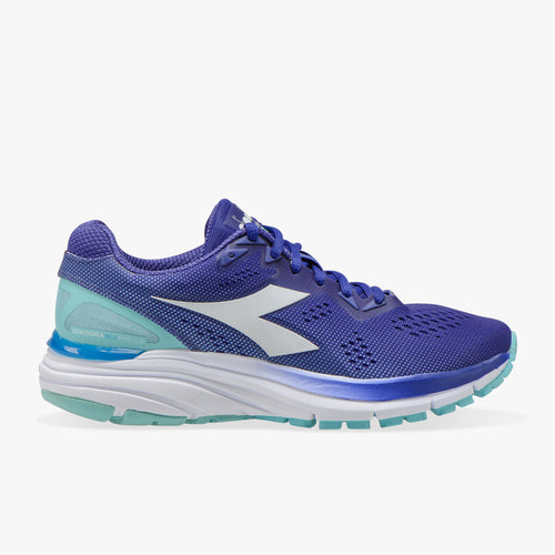 Women Mythos Blushield 3 Running Shoe -Clematis Blue/White