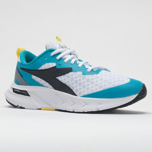 Women's Mythos Blushield Volo Running Shoe - White/Scuba Blue
