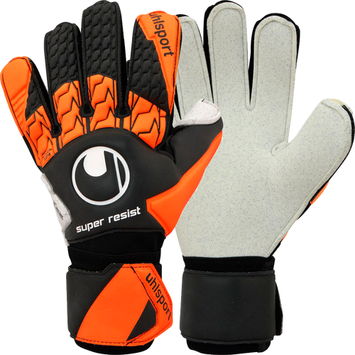 Super Resist Goalkeeper Gloves -Black