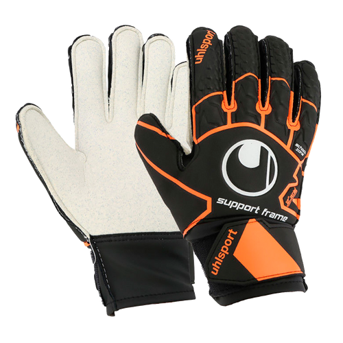 Super Resist Support Frame Goalkeepr Gloves - Black