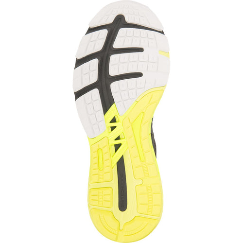 Men's GT-4000 (2E-Wide) Running Shoe - Dark Grey/Safety Yellow