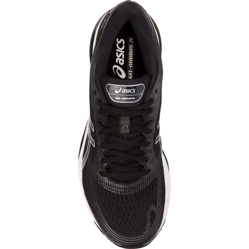 Men's GEL-Nimbus 21 Running Shoe - Black/Dark Grey