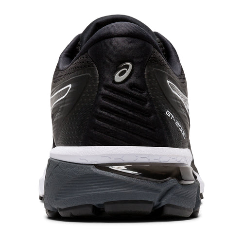 Men's GT 2000 v8 (2E-Wide) Running Shoe - Black/White