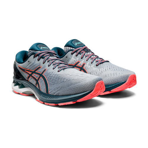 Men's Gel Kayano 27 Running Shoe - Sheet Rock/Magnetic Blue