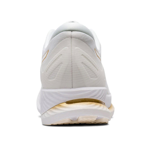 Men's Glideride Running Shoe - White/Pure Gold