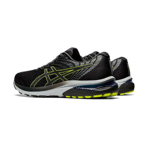Men's GEL-Cumulus 22 Running Shoe - Graphite Grey/Lime Zest