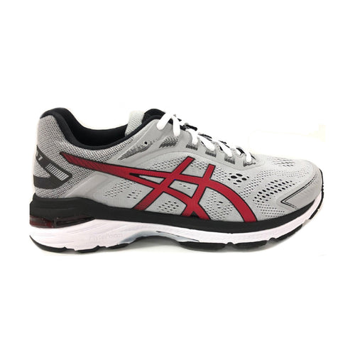 Men's GT 2000 v7 Running Shoe - Mid Grey/Speed Red