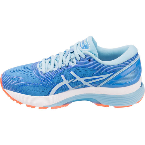 Women's GEL-Nimbus 21 Running Shoes - Blue Coast/Skylight