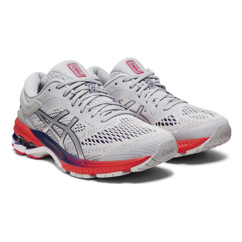Women's Gel Kayano 26 Running Shoe - Piedmont Grey/Silver