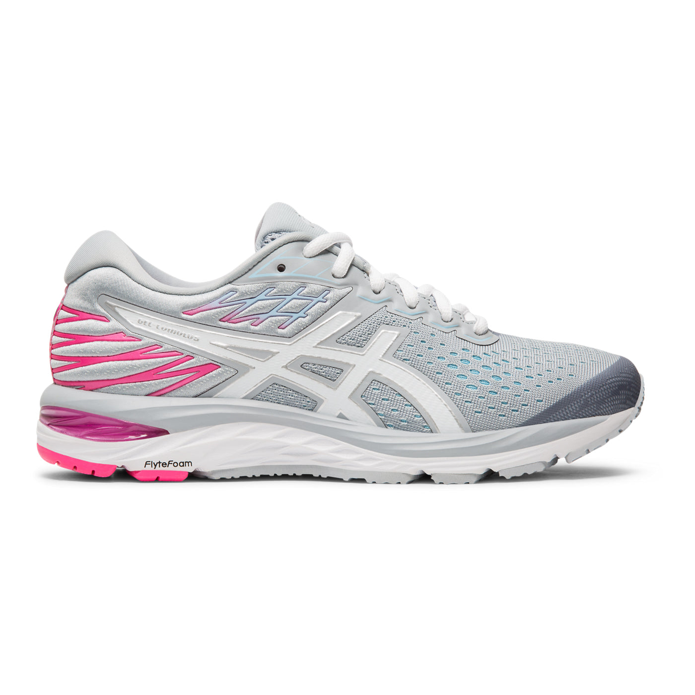 san francisco price reduced hot-selling clearance Women's Gel Cumulus 21 Running Shoe (Wide Width D) - Piedmont Grey / White
