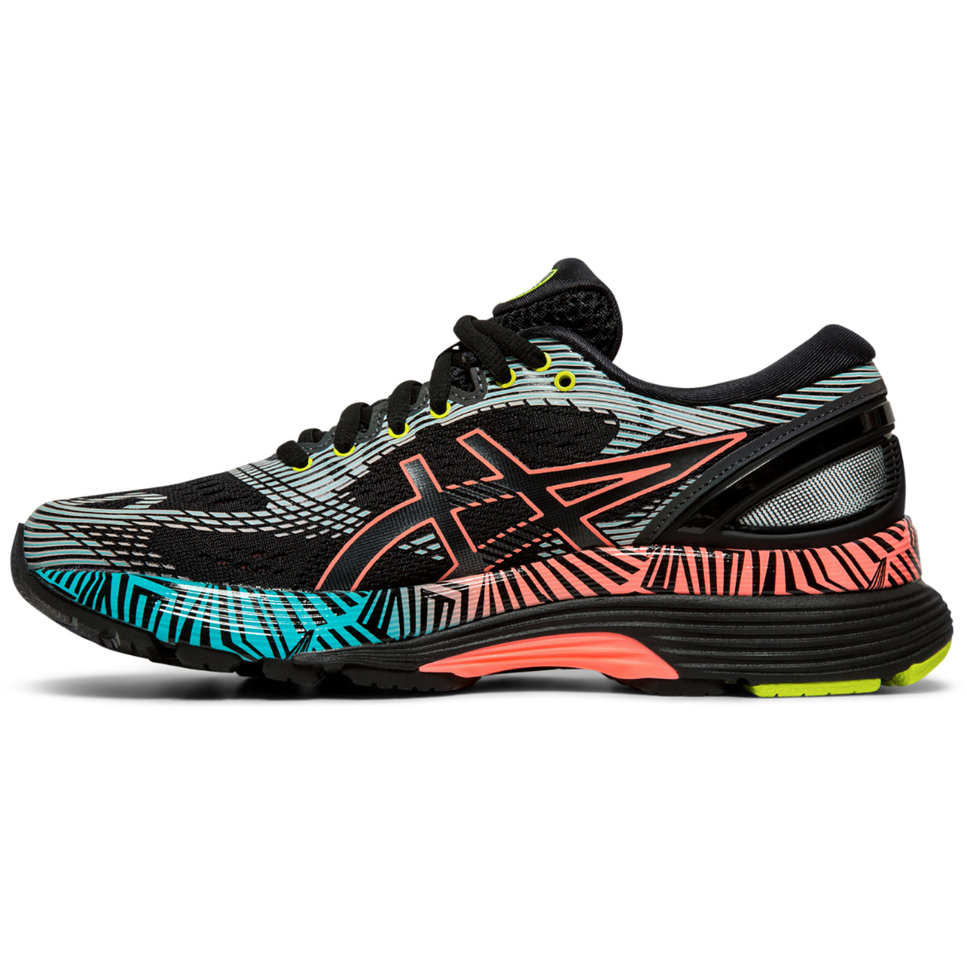 Women's Gel Nimbus 21 Lite Show Running Shoe BlackSun