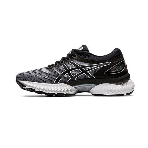 Women's GEL-Nimbus 22 Running Shoe - White/Black