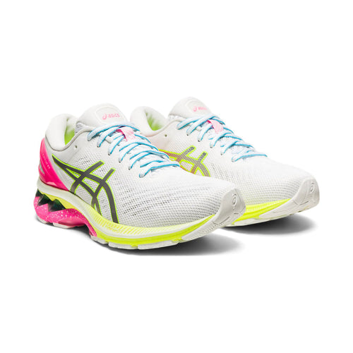 Women's Gel-Kayano 27 Lite Show Running Shoe - White/Pure Silver