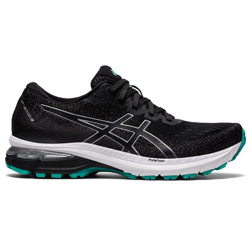 Women's GT 2000 9 (B - Regular) Running Shoe - Black/Pure Silver