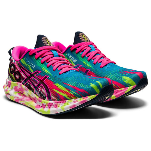 Women's Noosa Tri 13 (B - Regular) Running Shoe - Digital Aqua/Hot Pink