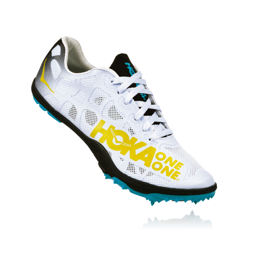 Women's Rocket LD Track Spikes- Black/Cyan