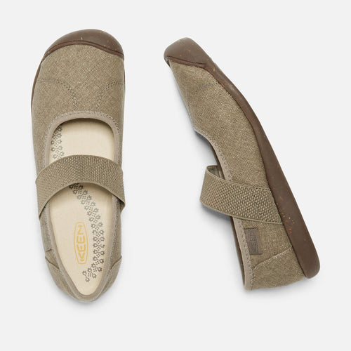 Womens Sienna Mary Jane Canvas