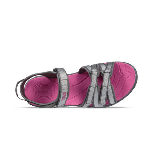 Girls Tirra Sandals - Silver/Magenta