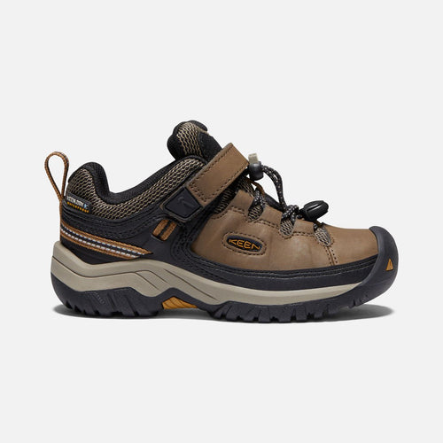Children Targhee Low WaterProof-Dark Earth Brown