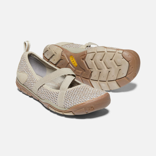 Women's Hush Knit Mary Jane CNX  Casual Shoe - Plaza Taupe/Silver Birch