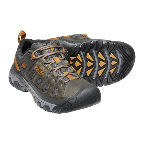 Men's Targhee Vent Trail Shoe - Raven/Bronze Brown