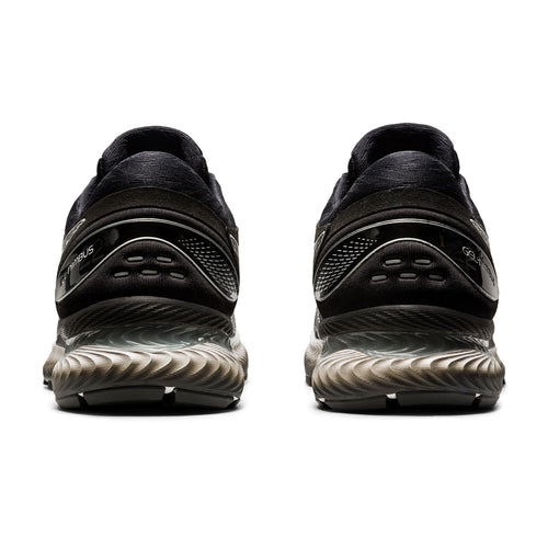 Men's Gel Nimbus 22 Knit Running Shoe - Black/Black