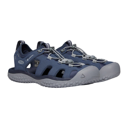 Men's SOLR Sandal - Navy/Steel Grey
