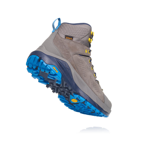 Men's Kaha Gore-TEX (D - Regular) Hiking Boot - Charcoal Grey/Blue