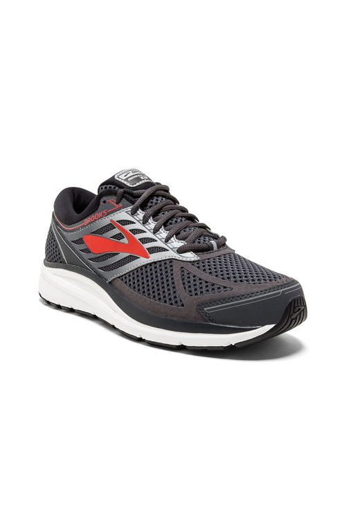 Men's Addiction 13 Running Shoe (2E-Wide) - Ebony/Black/Red