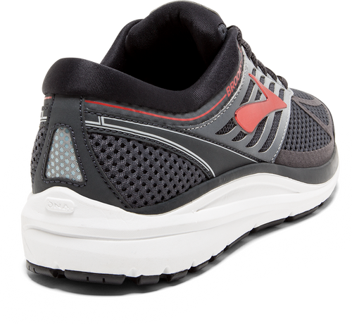 Men's Addiction 13 Running Shoe - Ebony/Black/Red