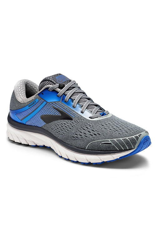 Men's Adrenaline GTS 18 Running Shoes - Grey/Blue/Black