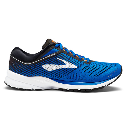 Men's Launch 5 Running Shoe - Blue/Black/Orange